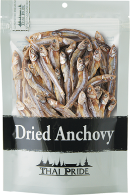 Anchovy Fisch, getrocknet
