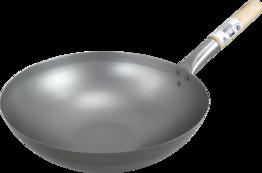 Wok, Eisenpfanne, Durchm.35 cm
