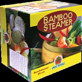 Steamer-Set 20 cm, Bambus