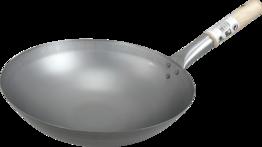 Wok, Eisenpfanne, Durchm.33 cm