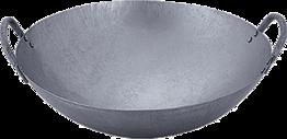 Wok, Eisenpfanne, Durchm.45 cm