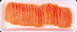 Lachsforellen-Scheiben für Sushi