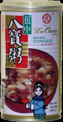 Reis-Bohnen-Suppe, süß