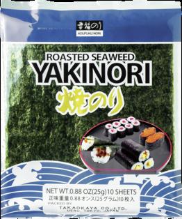 Seealgen, geröstet (Yaki Nori)