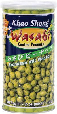 Peanuts with Wasabi