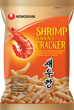 Shrimp flavoured Cracker