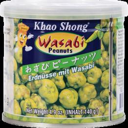 Erdnüsse mit Wasabi