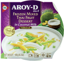 Dessert, Thailändische Früchte