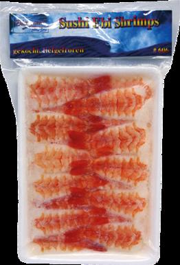 Lachs-Scheiben für Sushi