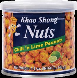 Erdnüsse mit Chili & Lime
